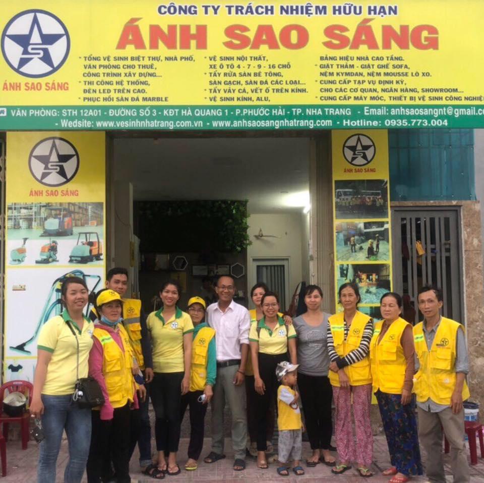 vệ sịnh công nghiệp tại Nha Trang