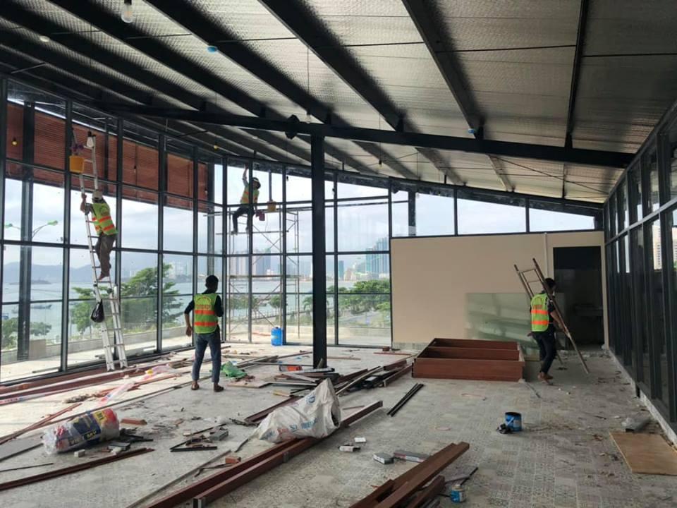 Tổng vệ sinh dự án tại Cam Ranh
